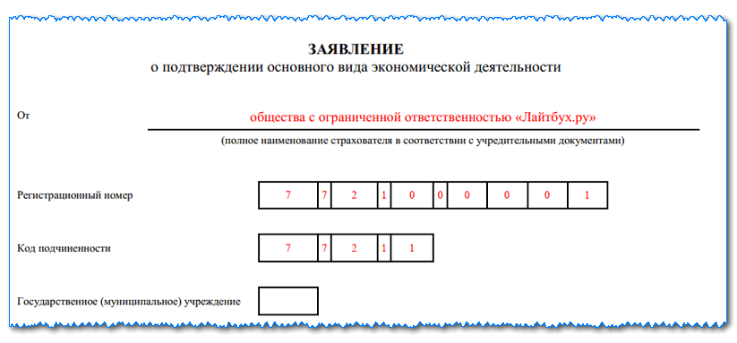 Подтверждение основного вида деятельности: кто должен отчитываться в ФСС в 2019 году, в какие сроки, ответственность